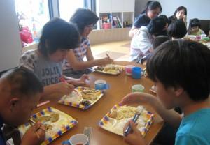 こもれび夏休み昼ご飯01