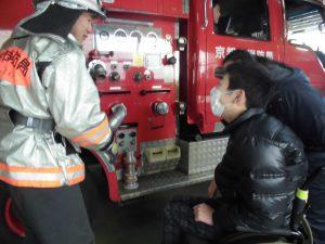 こもれびから右京消防署へ03