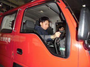 こもれびから右京消防署へ08