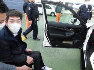 京都府警察航空基地見学3