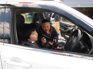 京都府警察航空基地見学5