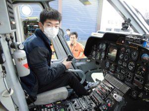 京都府警察航空基地見学7