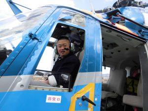 京都府警察航空基地見学9