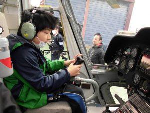 京都府警察航空基地見学10