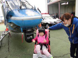 京都府警察航空基地見学11